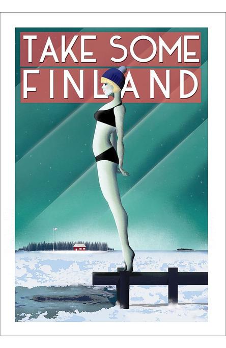 Take Some Finland by Omar Escalante, Poster 50 x 70 cm (on demand print)
