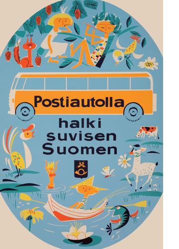 Postiautolla halki suvisen Suomen