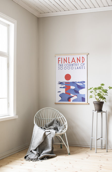 30 000 lakes, Original size poster
