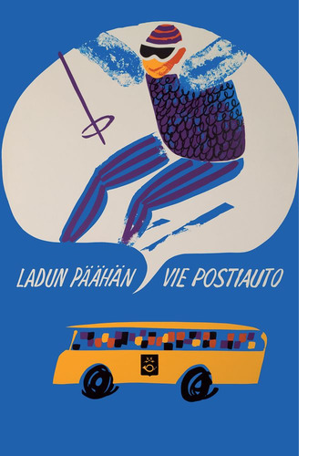 Ladun päähän vie postiauto