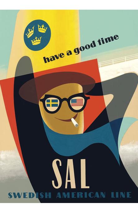 Have a good time, Affisch A4-storlek