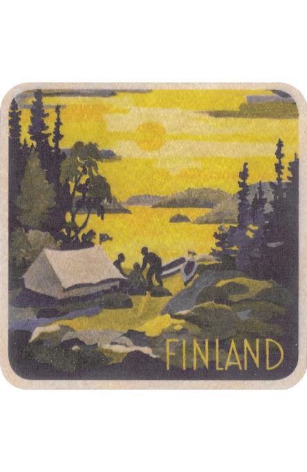 Finland paddler, coaster