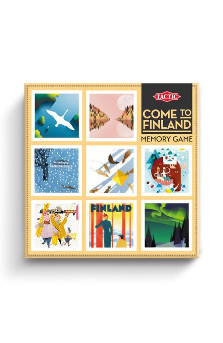 Come to Finland Memory-spel