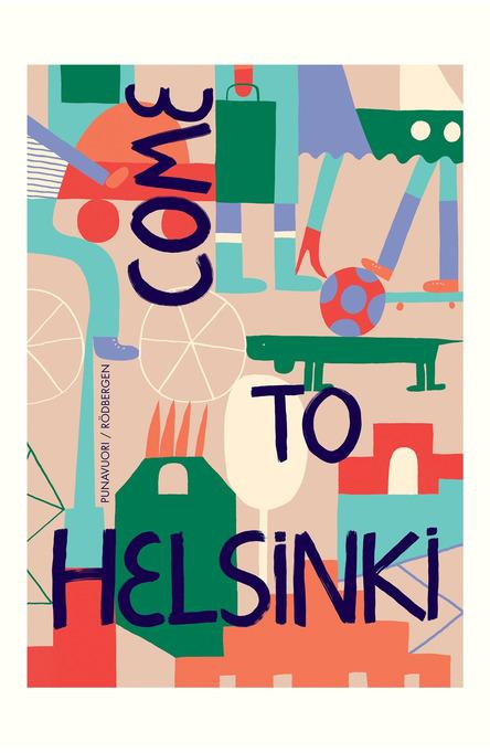 Come to Helsinki by Réka Király, Postcard