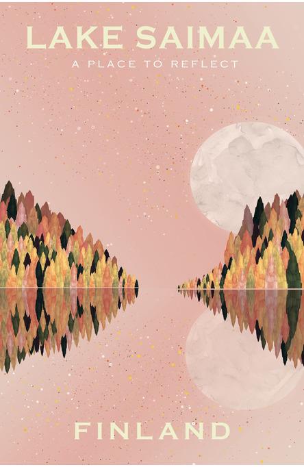 Lake Saimaa by Beth Chesser, Postcard