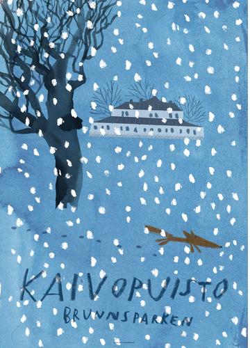 Kaivopuisto by Marika Maijala