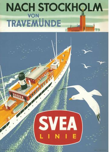 Nach Stockholm von Travemünde