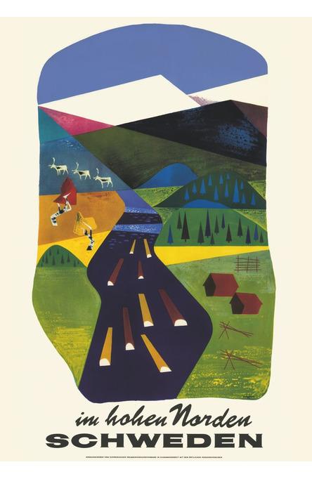 Im Hohen Norden, Poster 70 x 100 cm