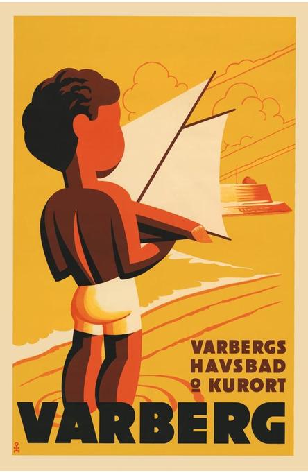 Varberg, Postcard