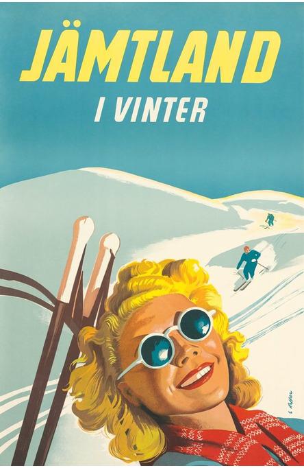Jämtland i Vinter, Vykort