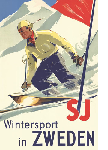 Wintersport in Zweden