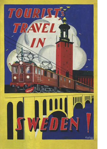 Tourist Travel in Sweden