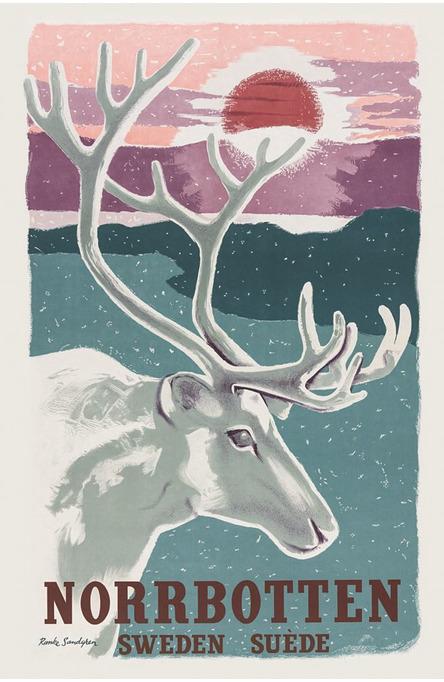 Norrbotten, Postcard