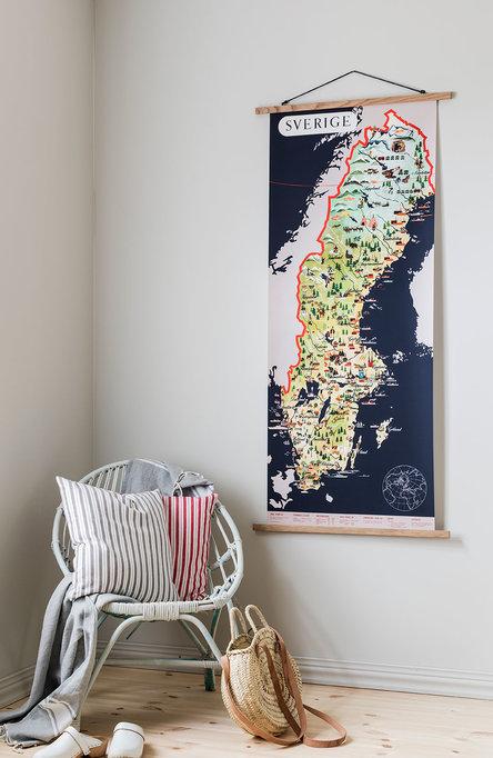 Sverigekarta, Affisch originalstorlek