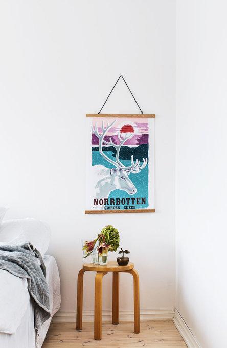 Norrbotten, Affisch 50 x 70cm