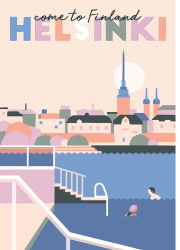 Come to Helsinki by Jolanda Kerttuli