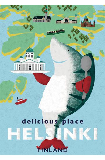 Delicious place Helsinki by Natsuki Nakamura