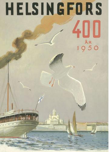 Helsingfors – The seagull