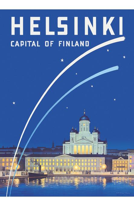 Helsinki – Capital of Finland, Poster 50 x 70 cm (offset print)