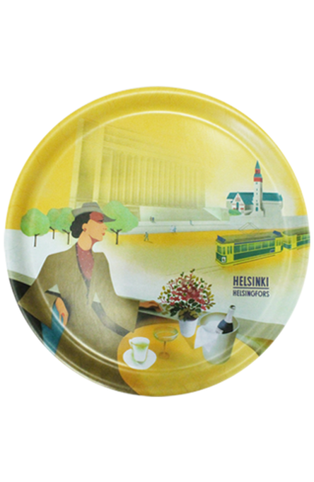 The Champagne Lady – ENG, Tray 35 cm