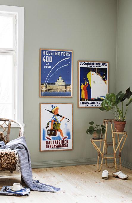 Helsingfors – 400 år, Poster 50 x 70 cm (offset print)