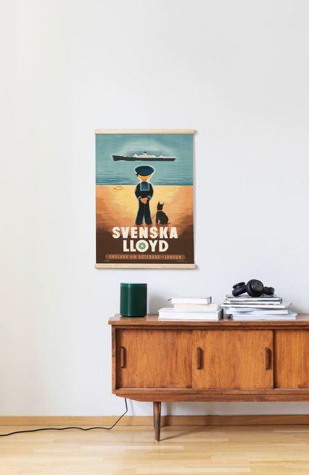 Svenska Lloyd, Affisch 50 x 70cm
