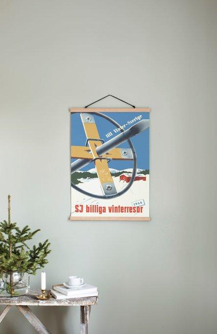 SJ – Billiga vinterresor, Poster 50 x 70 cm
