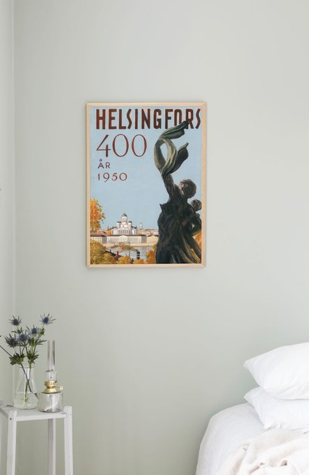 Helsingfors – The shipwrecked, Poster 50 x 70 cm (offset print)