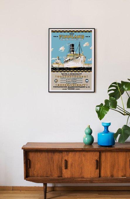 Reist nach Finnland, Poster 50 x 70 cm (on demand print)