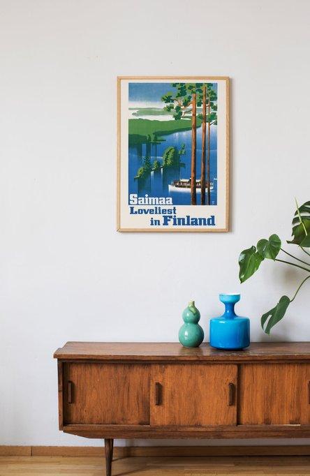 Saimaa … Loveliest Poster 50×70