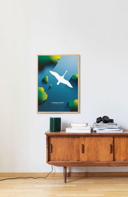 The beauty of Saimaa, Affisch 50×70