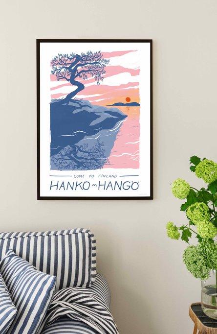The Hanko-Hangö pine by Lotta Fors Poster 50×70