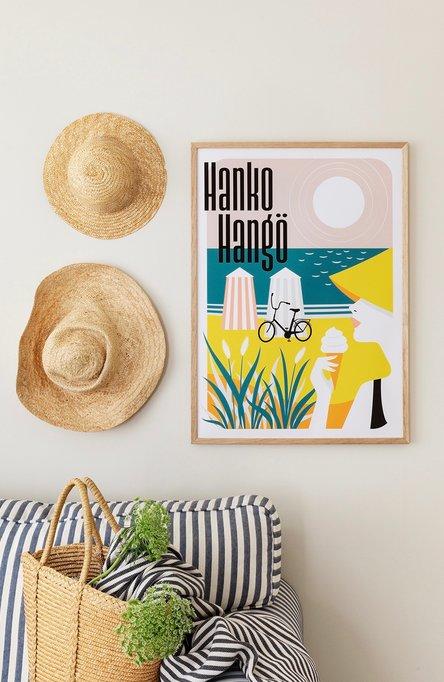 Hanko – The Riviera of Finland by Fanny Törnqvist Poster 50×70