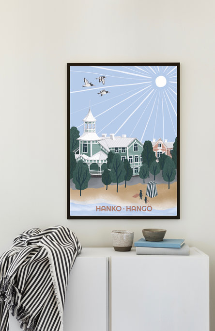 The sunniest city by Emilia Kejonen Poster 50×70