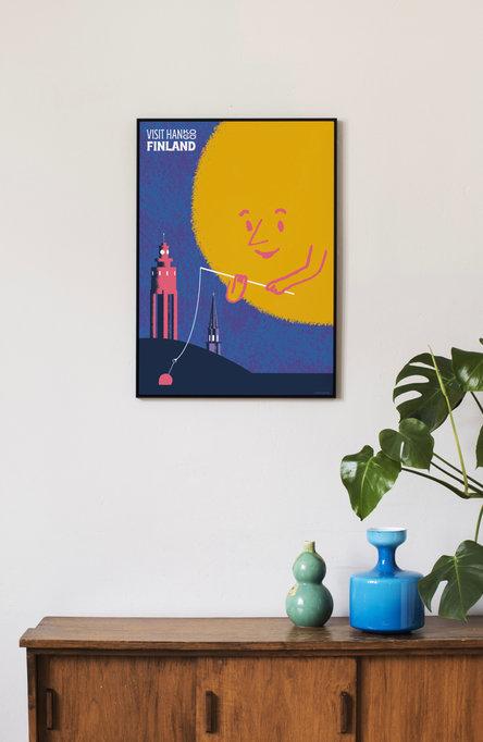 The Sun Loves Hanko-Hangö by Pekka Kurki Poster 50×70