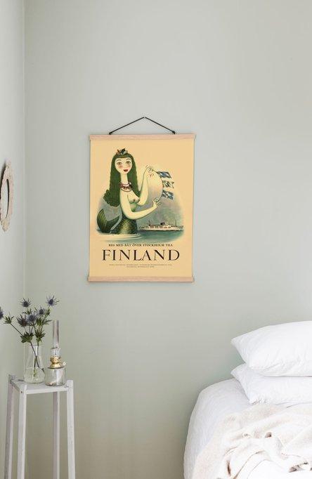 Sjöjungfrun, Poster 50 x 70 cm (on demand print)