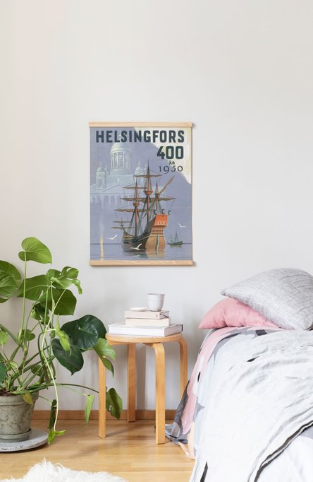 Helsingfors – Sailing ship, Poster 50 x 70 cm (offset print)