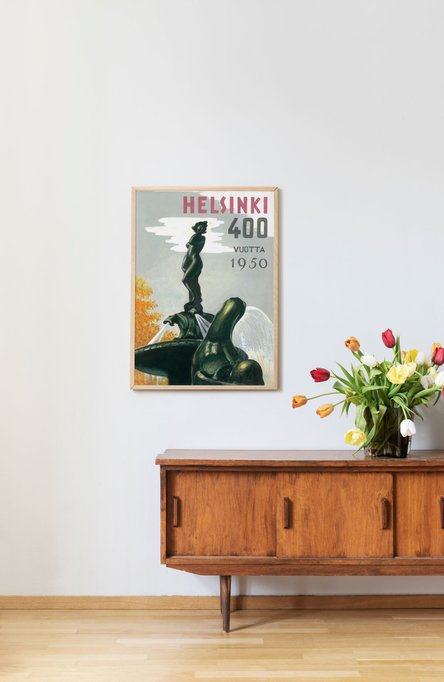 Helsinki – Havis Amanda, Poster 50 x 70 cm (offset print)