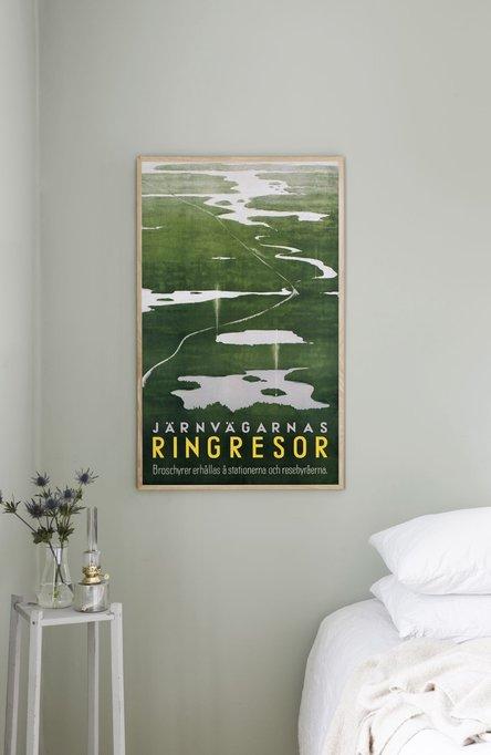 Järnvägarnas ringresor, Original size poster