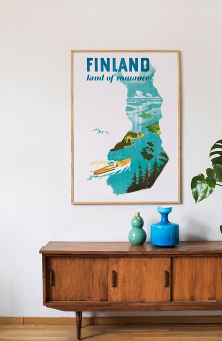 Private: Land of romance, Original size poster