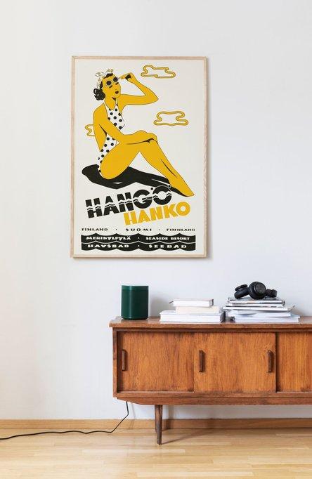 Yksityinen: The Hanko Lady, Original size poster