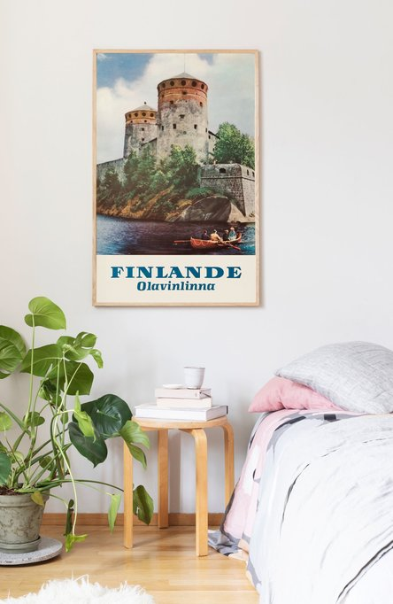 Olavinlinna by Kai Nordberg, Original size poster