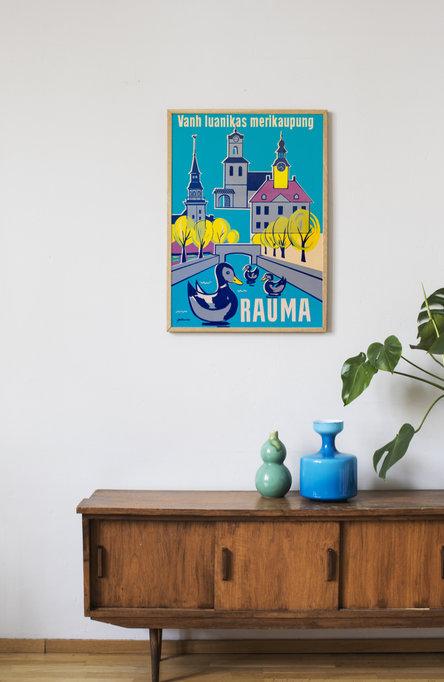 Rauma Affisch 50 x 70 cm