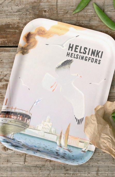 Helsingfors – the Sea gull, Tray 20 x 27 cm