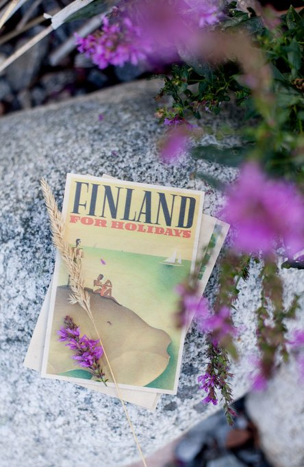 For Holidays – Archipelago, Wooden postcard
