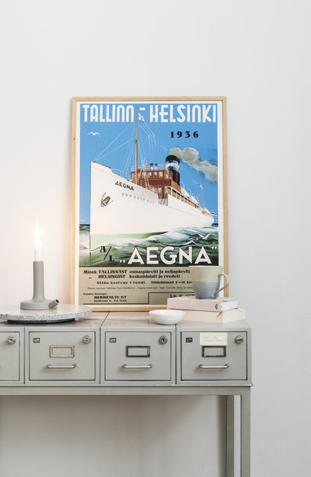 Aegna, Poster 50 x 70 cm (on demand print)