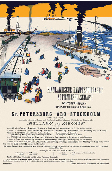 The Smoking Ships, Original size poster