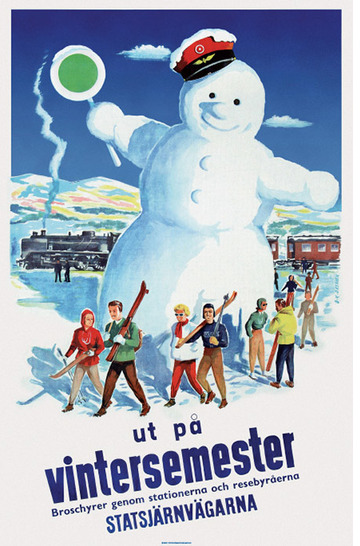 The Snowman in Swedish