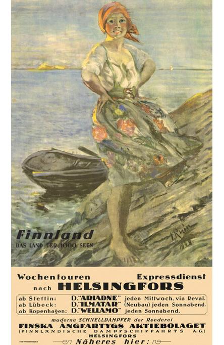 The Archipelago-girl, Original size poster