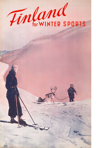 Finland for wintersports – In Pink